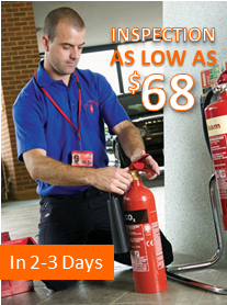 Fire Extinguisher Inspection 2-3 Days Service