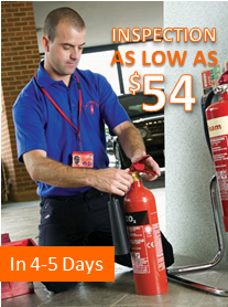 Fire Extinguisher Inspection Service in 2 to 3 Days